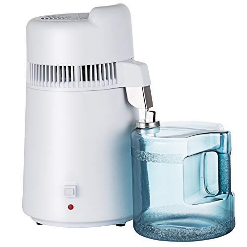 SHZOND 1.58Gallon/ 6L Countertop Water Distiller 900W Pure Water Distiller