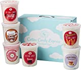 Breakfast Gourmet Flavored Cotton Candy Gift Box – Unique Idea for Holidays, Birthdays, Gag Gifts, Party Favors