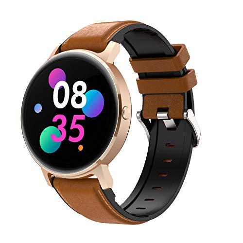 ZYY LG16 Bluetooth Call Music SmartWatch Music Play Detección de Ritmo cardíaco IP67 Reloj Impermeable para Android iOS Reloj Deportivo,E