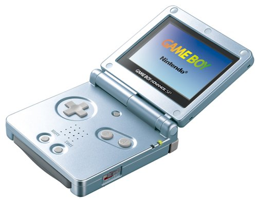 Game Boy Advance SP: Arctic Blue