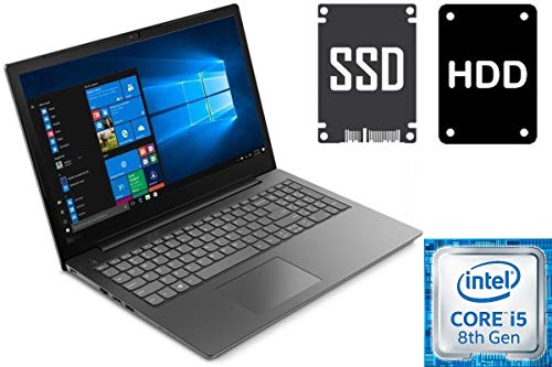 "Notebook Lenovo V130-15IKB - Core i5-8250U - 8GB DDR4-RAM - 256GB SSD + 1000GB HDD - Windows 10 Pro - 39cm (15.6\"") Full HD Matt - CD/DVD Brenner"