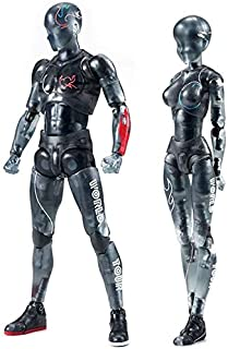 INSO Action Figure Model, Action Figures Body-Kun DX & Body-Chan DX PVC Model for SHF (Female+Male)