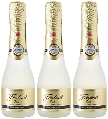 FREIXENET - Cava Semiseco Mini Nevada Pack 3 Botellas 20 Cl