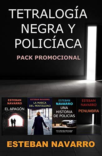 PACK PROMO de la tetralogía negra y policíaca