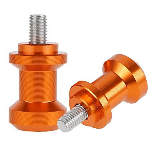 NICECNC Orange CNC SwingArm Schwingarm Spulen Bolzen Slider kompatibel mit KTM 690 Duk/SMC 08-18, SMC R/ENDURO R 19-21,790 Duk 2018-21,250/390 Duk2018-21,890 Duk 18-21,790/890 Abenteuer. RE/R 2018-21.