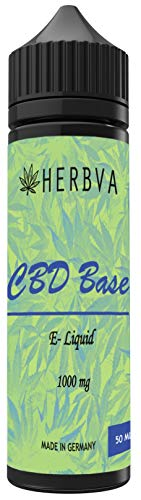 CBD Liquid ohne Nikotin HERBVA® CBD •...