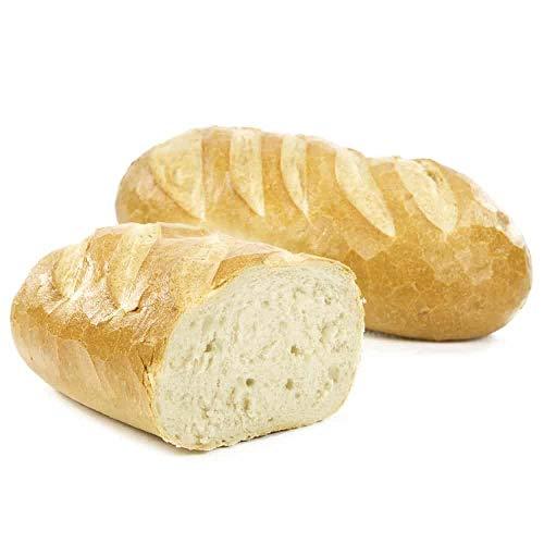 Vestakorn Handwerksbrot, Weißbrot Rund 500g - frisches Brot – feinporige Krume, selbst aufbacken in 10 Minuten