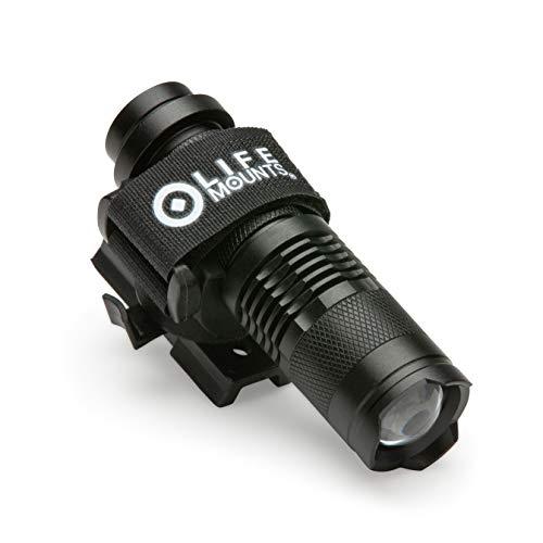 Life Mounts LED Tactical Helmet ARC Rail Light (White LED)