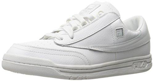 FILA Herren Original Tennis Classic Sneaker, Weiß (Weiß/Weiß/Weiß), 43 EU