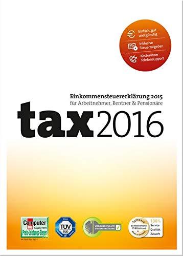 Preisvergleich Produktbild tax 2016 (für Steuerjahr 2015)