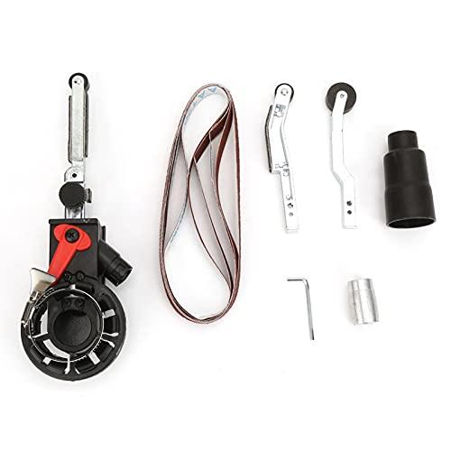 Lixiaonmkop M14 Winkelschleifer DIY Sander Schleifband Adapterkopf Schleifpoliermaschine für 115mm / 125mm Elektrowerkzeuge