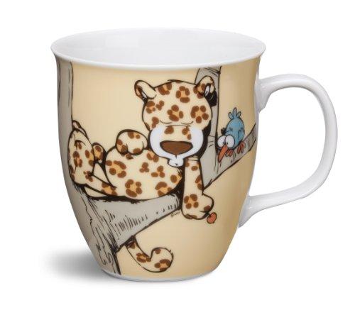 Great Gizmos NICI Wild Friends Tasse Leopard Porzellan 9,5x 10cm