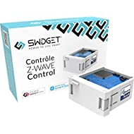 Swidget Z-Wave Power Control Insert - Works with Swidget Smart Outlet, Smart Plug, ZWave Plug, ZWave Outlet, SmartThings, Wink, Vera and other Z-Wave hubs to control smart home, monitor energy, timer