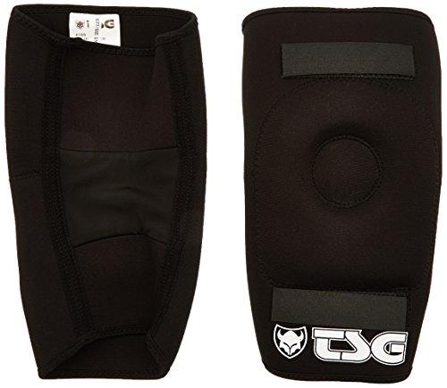 TSG Erwachsene Knieschützer Knee-Gasket Brace AD Knieschoner, Black, S/M