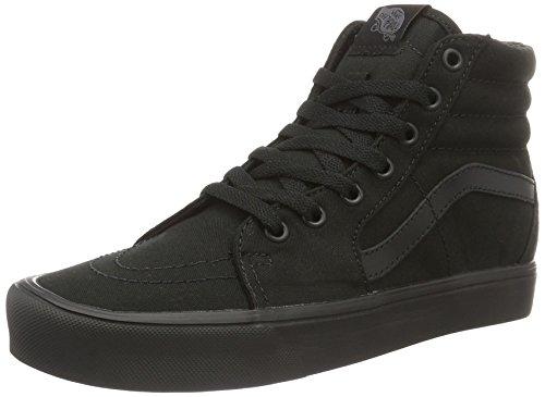 Vans Sk8-hi Lite, Sneaker a Collo Alto Unisex-Adulto, Nero (Canvas), 38 EU