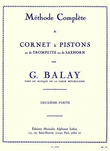 METHODE CORNET A PISTONS VOLUME 2
