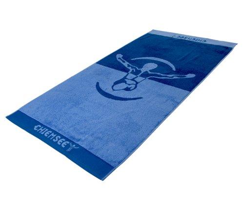 Chiemsee Jumper Sporttuch Handtuch Duschtuch 60 x 110cm blau