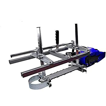 """Chainsaw Mill portable Aluminum Steel Saw Mill Planking Lumber Cutting Milling 36"""""""