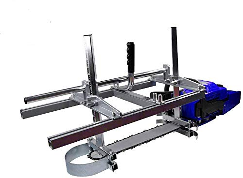 Chainsaw Mill portable Aluminum Steel Saw Mill Planking Lumber Cutting