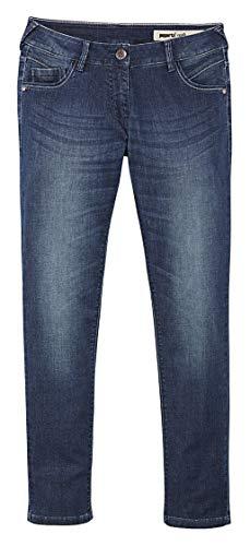 Pepperts! Mädchen Jeans Jeanshose Kinderjeans Hose (158, blau)