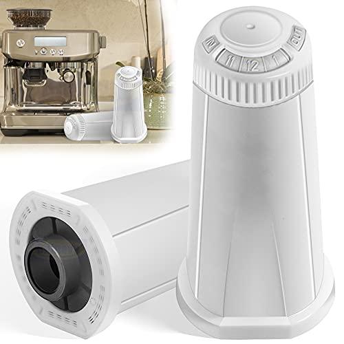 Verbesserter Ersatz Wasserfilter für Sage Claro Schweizer Espresso-Kaffeemaschine, Ersatzteil #BES008WHT0NUC1, 2PCS