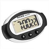 OcioDual Reloj Digital con Soporte Adhesivo para casa Coche Fecha Hora Alarma Cronometro