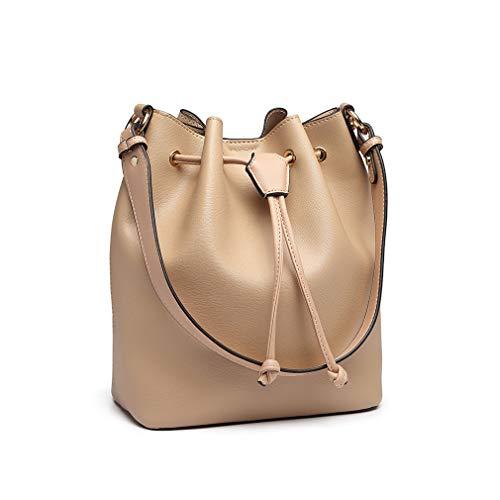 Miss Lulu Damestassen met trekkoord elegante tas grote capaciteit hengseltassen voor op reis