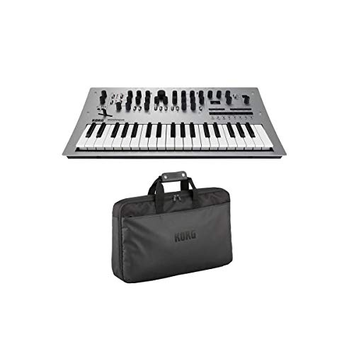 Best Buy! Korg Minilogue 4 voice Analog Synthesizer with 2 Oscillators per Voice and 16 step Sequenc...