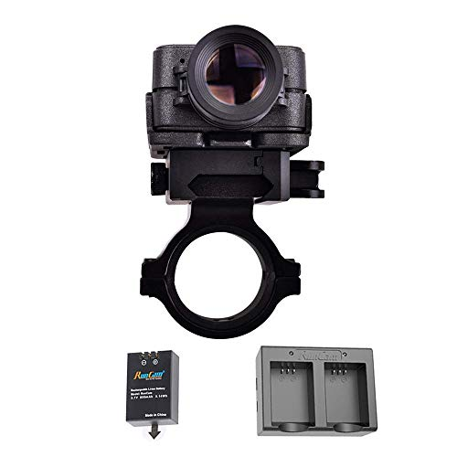 RunCam 2 Airsoft Gun Camera +1 Spare Rechargeable Battery + 1 Dual Battery Charger