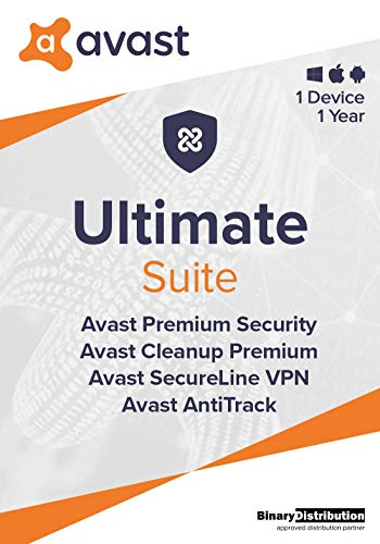 Avast Ultimate 2021, 1 Device 1 Year,...