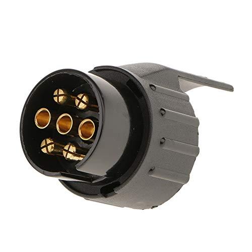 XIAOYAFANG Hxfang® 7 for Pin 13 Pin 12V Remolque Corto Conector Adaptador de Remolque for Camiones Auto Ahora Caliente