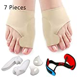 Bunion Corrector & Bunion Relief Protector Sleeves Kit - Treat Pain in Hallux...