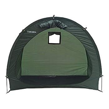 Leeworks Vélo Tente De Stockage en Plein Air Jardin Couverture De Vélo Accessoires De Vélo, Conception De Fenêtre Camping Tente Accessoires Étanche Pop Up Tentes