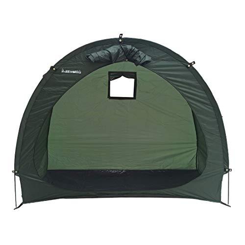 Leeworks Bike Storage Tent Waterproof Outdoor Shelter Yard Stash Tidy Tent