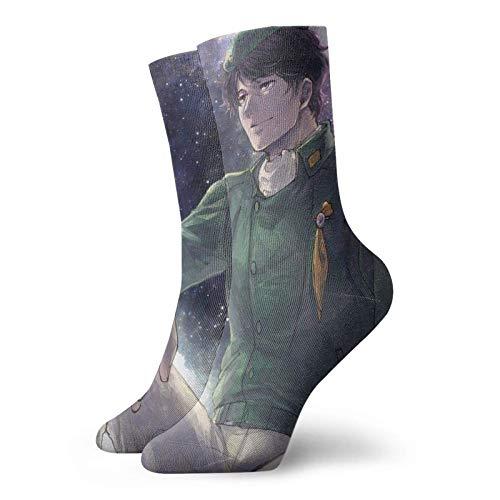 Legend of the Galactic Heroes Socken Yang Wen li Digitaldruck Cartoon Animation Kreative Socken