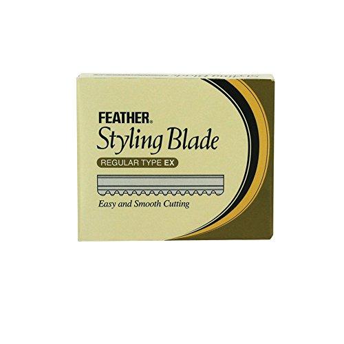 Ersatzklingen für Feather Rasiermesser