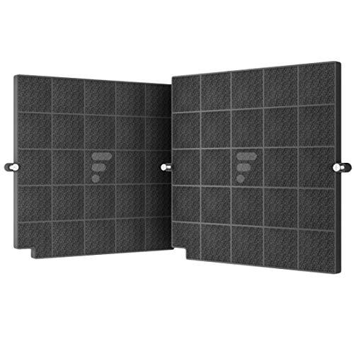 Fac FC120 - Filtro de carbón activo para campana extractora de cocina – Compatible con campana Airforce affcaf16cs afcfcaf16cs hbox90x hboxf5390x hbox90ek Campana Arthur Martin afcv9031