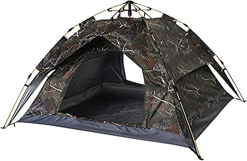 Ankon Pop Up Tent Beach Tent Tents for Camping Tienda de cúpula a prueba de agua para acampar, carpa para niños, tienda de campaña 3-4 persona, conjunto de campaña de camuflaje, para al aire libre cam