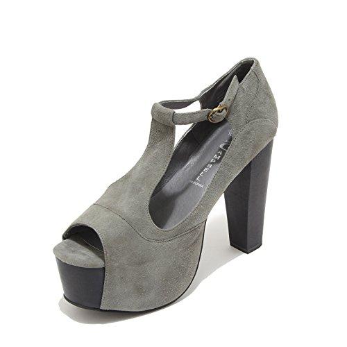 Jeffrey Campbell 8854F Sandalo Foxy Wood Scarpa Donna Shoes Women [41]