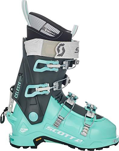 SCOTT Celeste III - Botas de esquí para Mujer, Color Verde/Gris Oscuro, tamaño 23