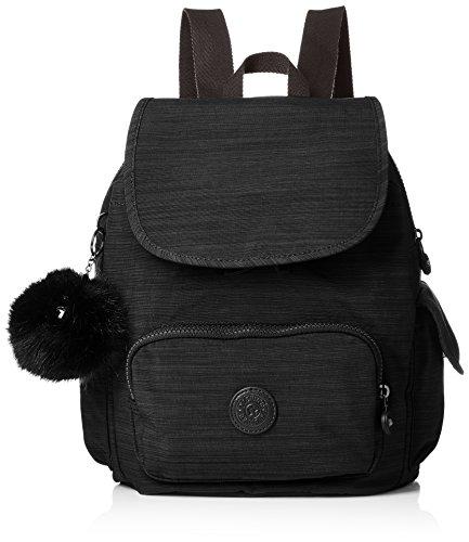Kipling Damen City Pack S Rucksack, Schwarz (True Dazz Black), 27 x 33.5 x 19 cm