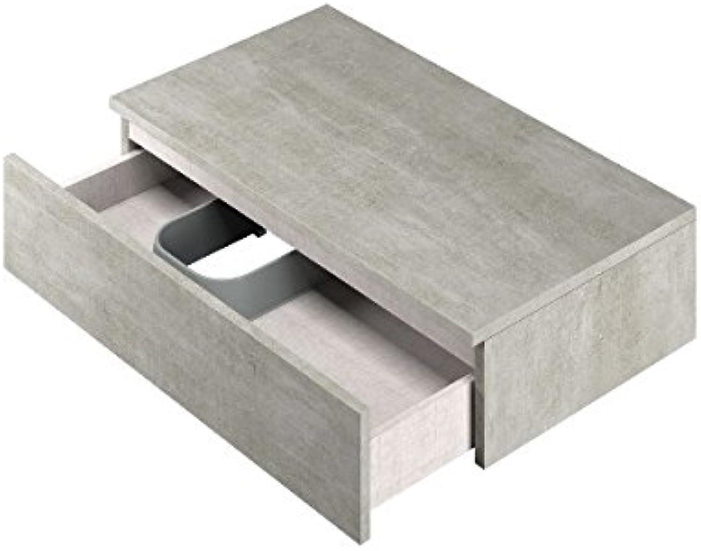 'Piano Forte Dicke Links mit Schublade ausziehbar mit H und Top inklusive