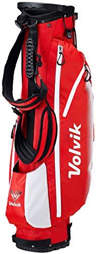 Volvik Vivid Sac de Golf avec Support Taille Unique Red