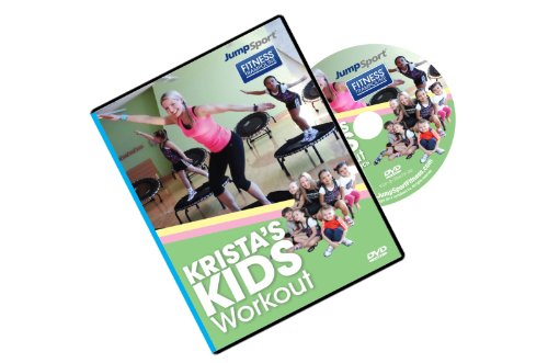 JumpSport Fitness Trampoline Kid's Krista's Workout DVD