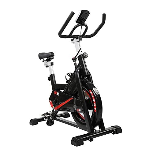 NC Bicicleta estática interior ajustable bicicleta fija adecuada para el gimnasio en casa ejercicio aeróbico bicicleta vertical