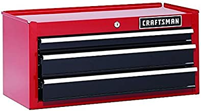Craftsman 26-Inch 3-Drawer Heavy-Duty Ball Bearing Middle Chest STACKABLE