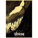 WYBFLF Leinwand Poster Vintage Comic Venom Hero Poster Tom