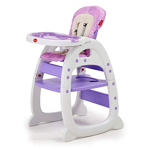 Why Choose YHLZ Baby High Chair, Imported Plastic/Flannel, 6 Months - 6 Years Old Baby Fashion Three...