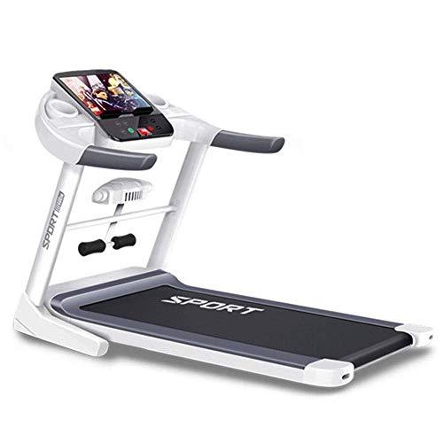 ZHANGYY Professionelle elektrische Laufband Bluetooth-Musikwiedergabe 10 km/h mit selbstschmierender Funktion Einfach zu Falten, um Platz zu sparen Maximale Belastung 130 kg