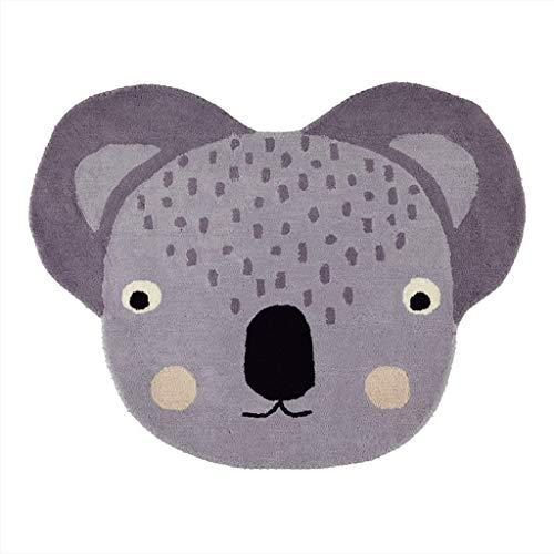 OYOY - Teppich - Koala - 80% Wolle - 20% Baumwolle - 100 x 85 cm